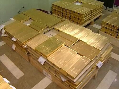 где хранятся золотые резервы страны