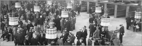 история рынка форекс